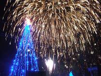 伊豆熱川温泉クリスマス花火
