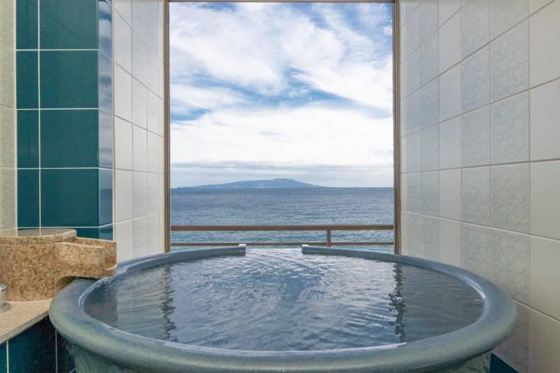 露天風呂つき客室