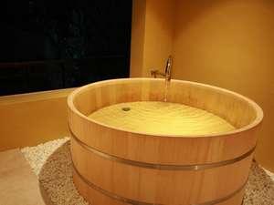 大人気!貸切風呂「椿」のひとつ「蕾」(つぼみ)はこちら!