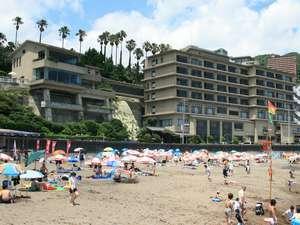 明日 8/11から熱川温泉海水浴場YOU湯ビーチ 再開です。