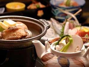 10月末まで松茸土瓶蒸しを夕食献立にご提供します!