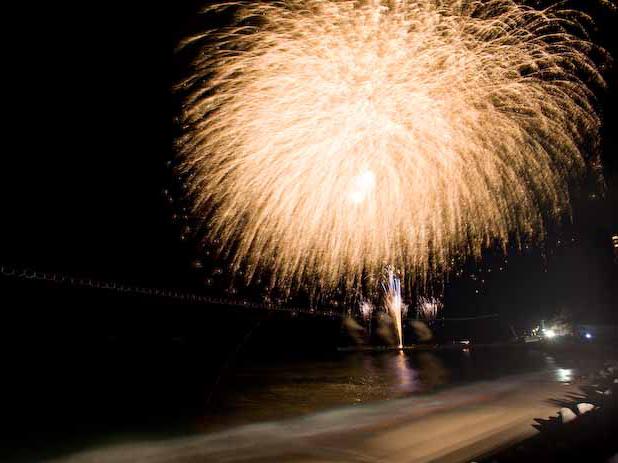 10月30日 熱川温泉石曳道灌祭り(花火大会)開催!